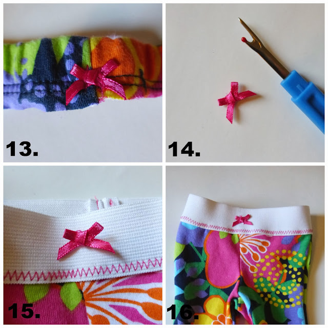 18 inch doll leggings from baby pants sewing tutorial