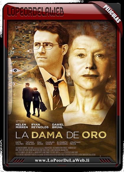 La Dama de Oro 2015 BRrip 720p Latino-Inglés