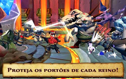 DEFENDERS & DRAGONS Android