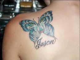 Gambar Tattoo Kupu-Kupu untuk Cewek