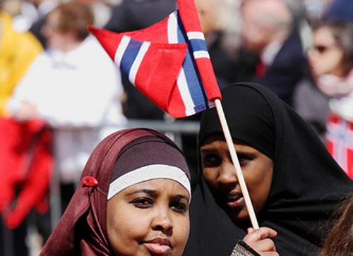 Výsledek obrázku pro uprchlíci žijící v norsku
