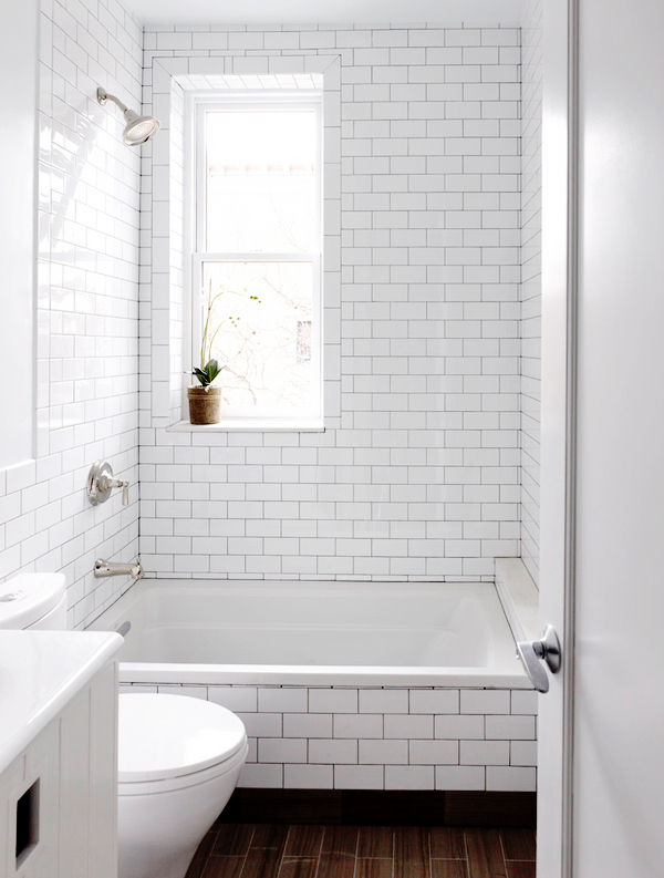 Bathroom dark shower grout b a s blog for Great looking bathrooms