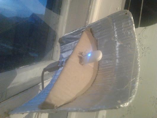 Рефлектор для 3g модема своими руками 75