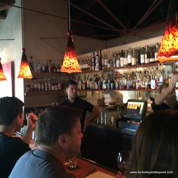 bar at Picco in Larkspur, California