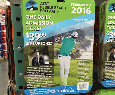 Treat yourself to an afternoon on the course with the AT&T Pebble Beach Pro-Am One Daily Admission Ticket