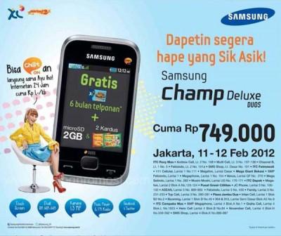 Gambar Hp Samsung Champ Deluxe Duos - Harga HP Terbaru 2013