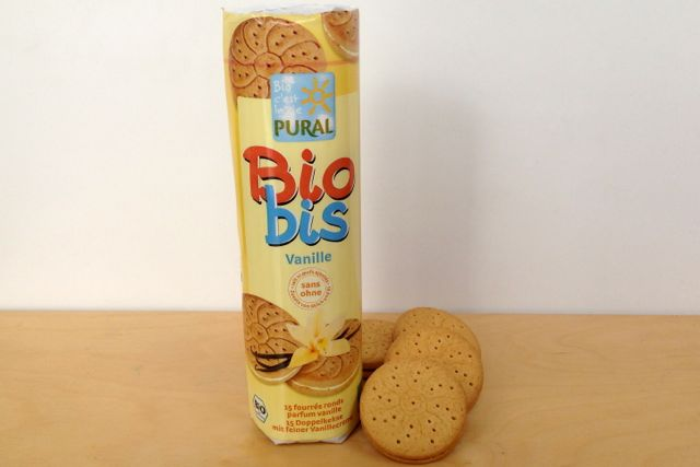 German Vegan: Pural Bio Bis Sandwich Biscuits