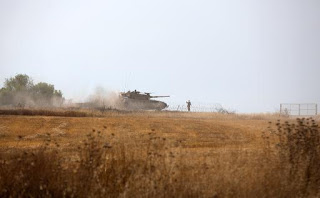 Foguete disparado contra Israel cai na Faixa de Gaza