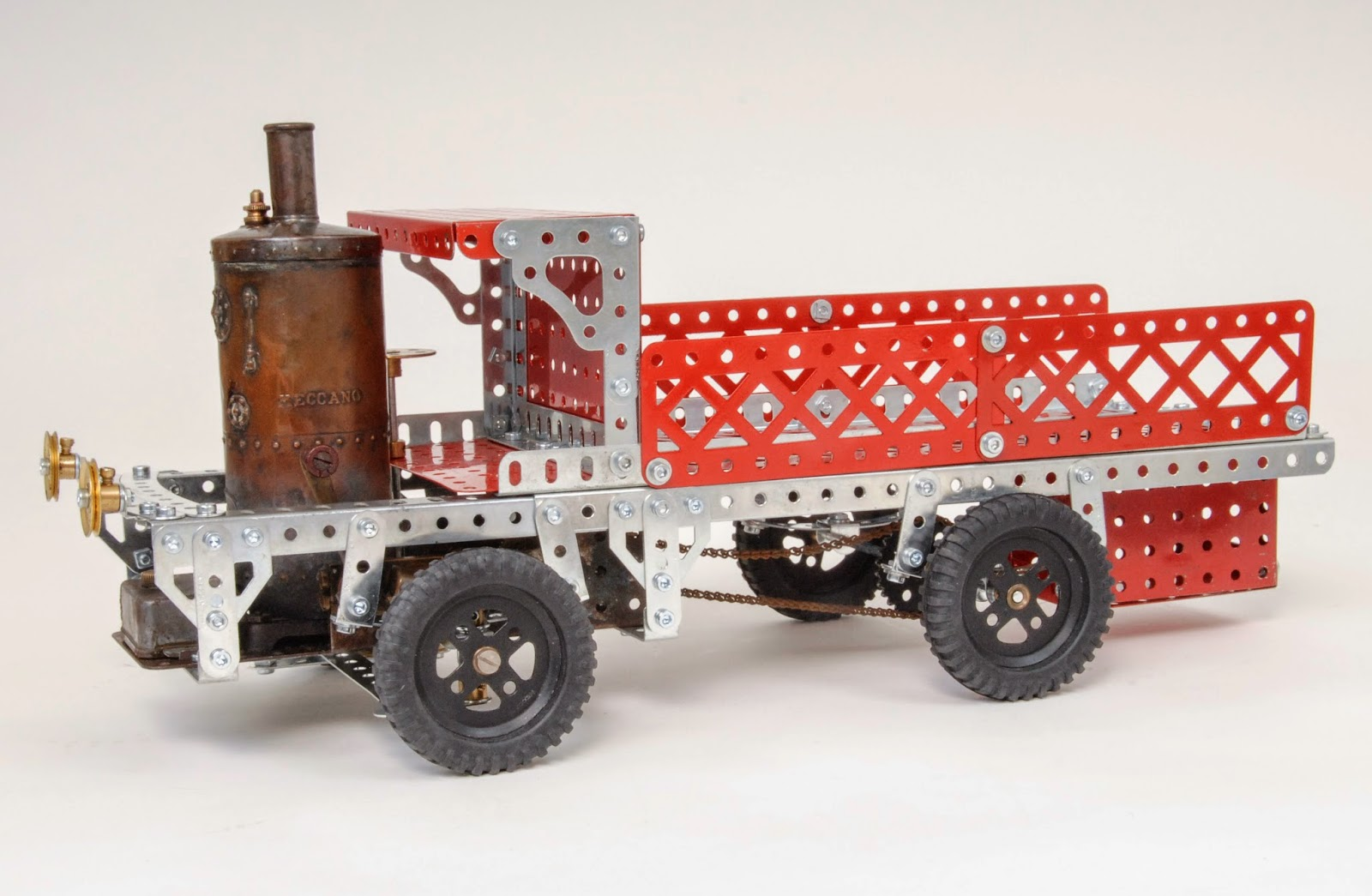 meccano steam engine instructions