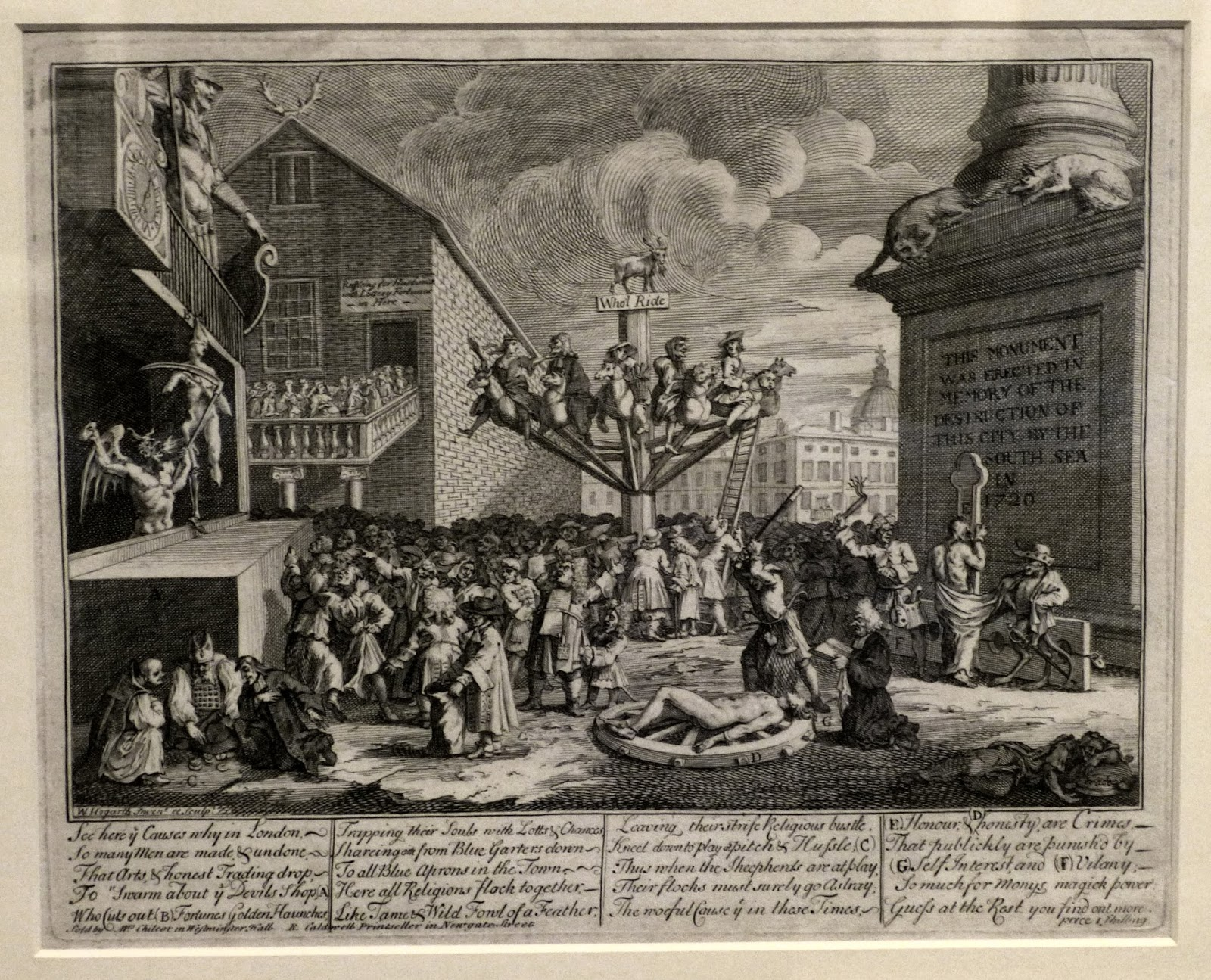 The South Sea Scheme by William Hogarth (c1721)