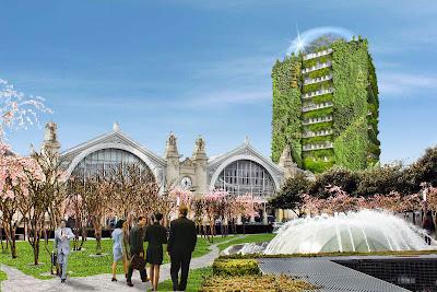 gare de Tours projet ilot Vinci tour végétale