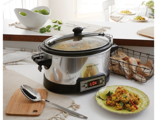 Hamilton Beach Right-Size Slow Cooker Giveaway