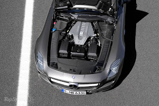 2011 Mercedes SLS AMG Roadster Engine