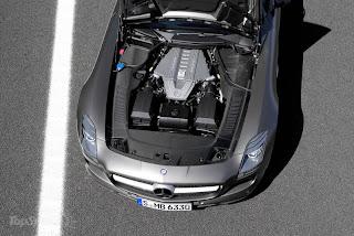 2011 Mercedes SLS AMG Roadster Engine
