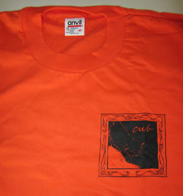 cub box of hair tshirt-front
