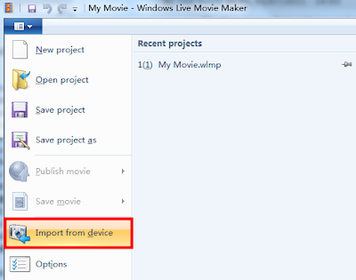 PowerPoint to Windows Live Movie Maker