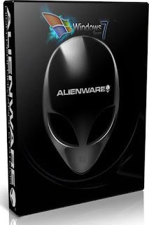 Microsoft Windows 7 Blue Alienware