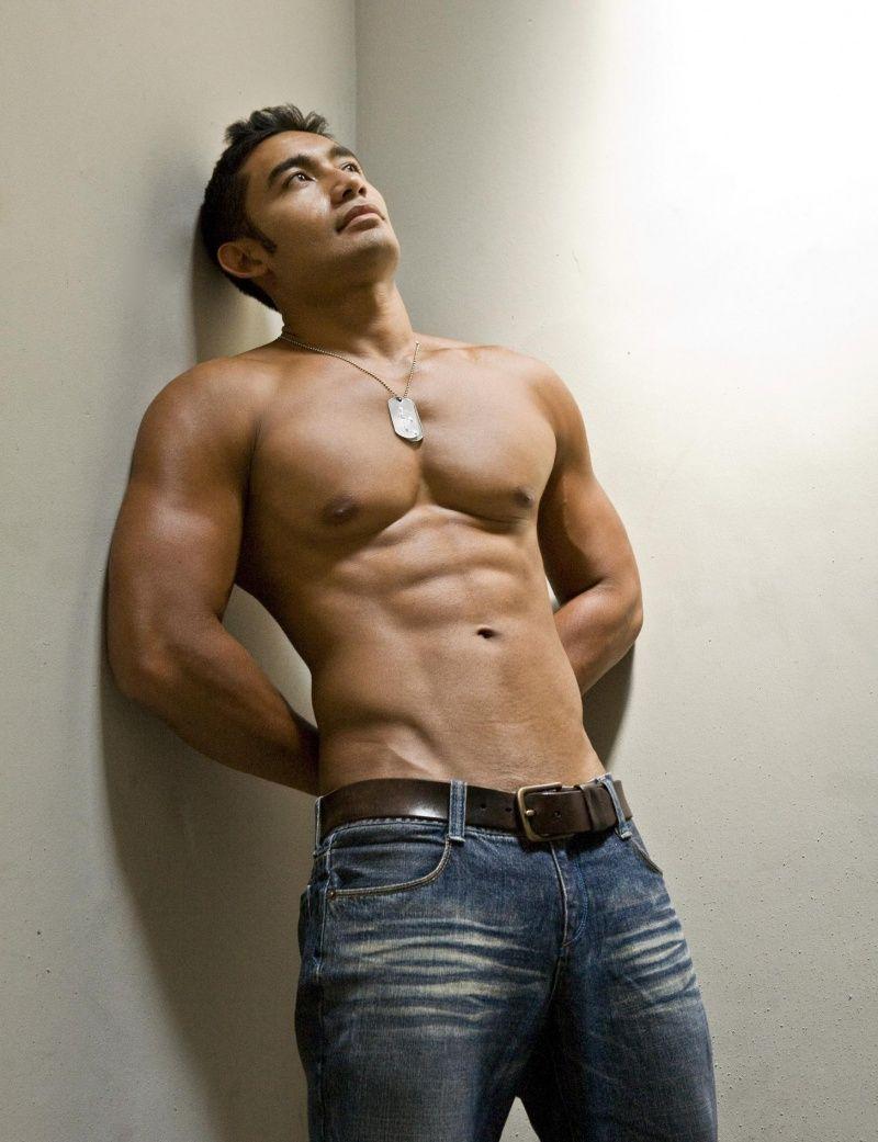 Topless asian boy — 8