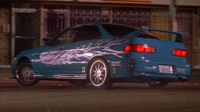 Acura Integra Mia The Fast And The Furious on 2003 Dodge Challenger R T