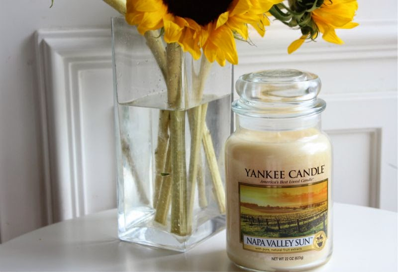 Yankee Napa Valley Sun Large Jar Candle