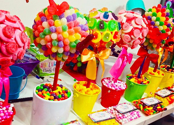 Candy Centerpieces Decor Land Theme Parties Party