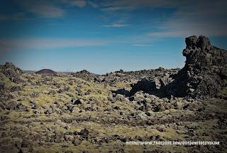 Volcán Snaefellsjokull lava alrededores