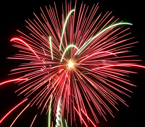 animated fireworks jquery effect for blogger
