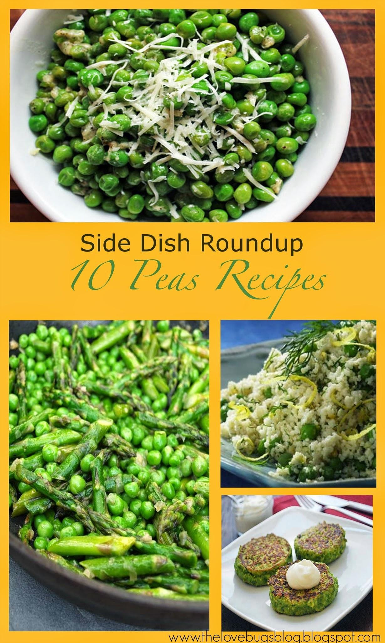 Peas Side Dish Recipes