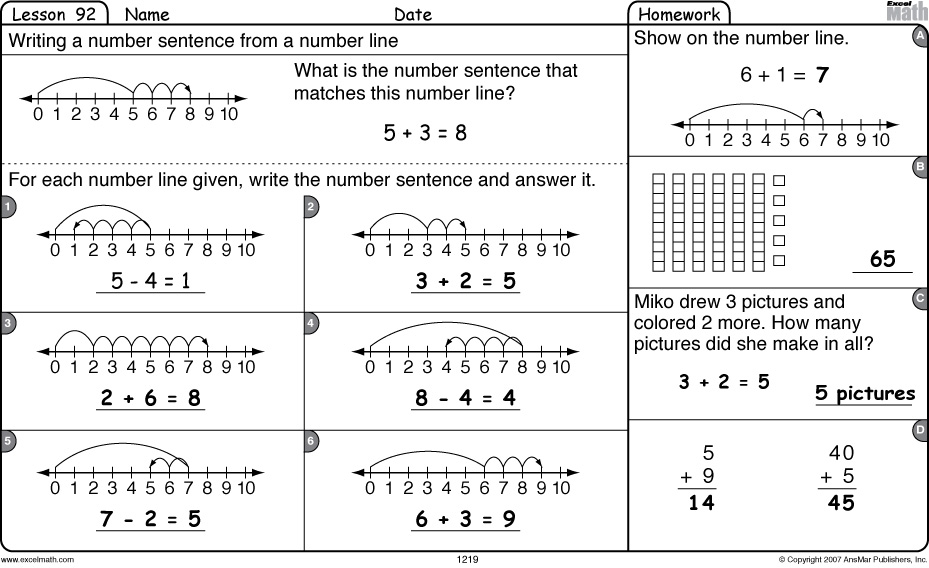 math worksheet : excel math 4 29 12  5 6 12 : First Grade Math Worksheets Pdf