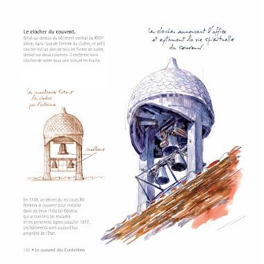 Le clocher du couvent des Cordelières