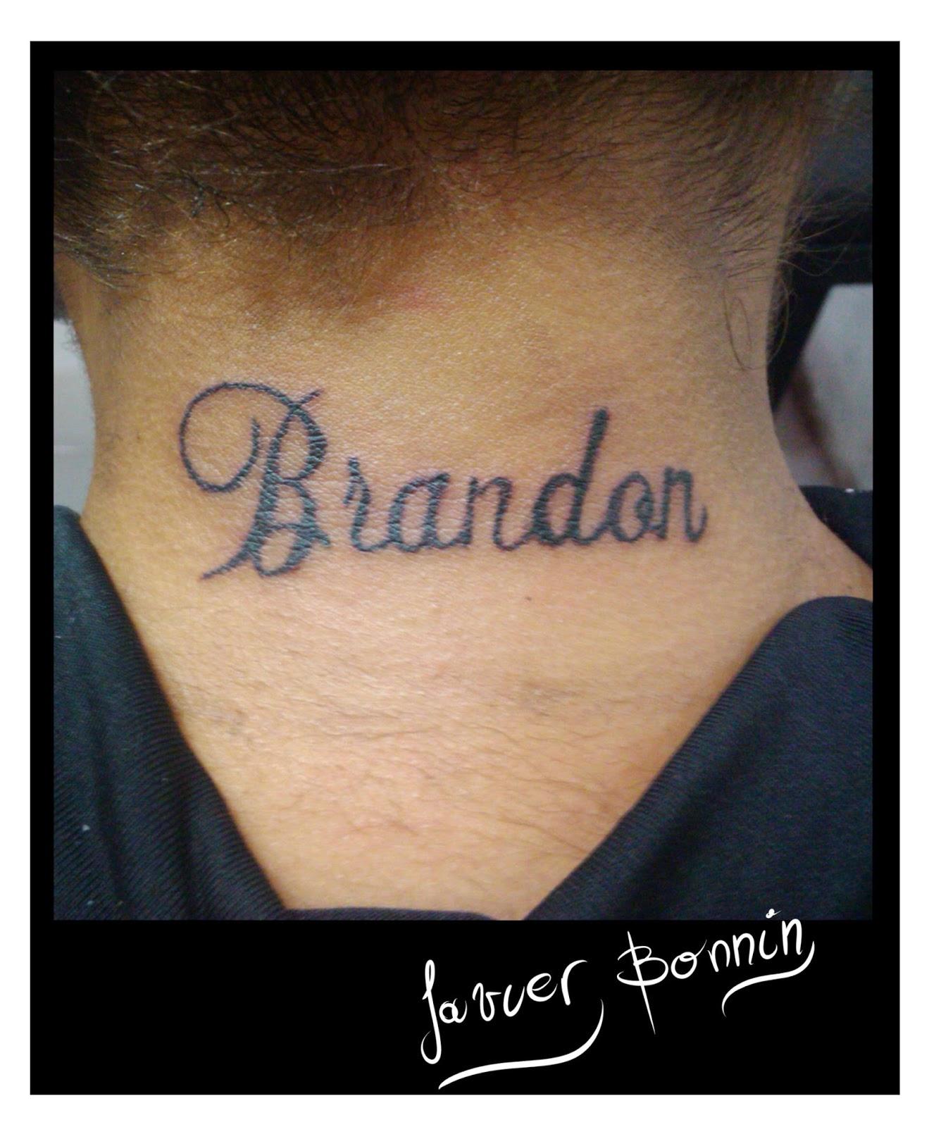 Tatuajes Con Nombre Brandon