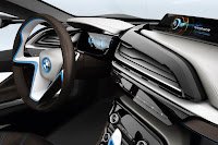 BMW i8 Concept Interior wallpaper 03