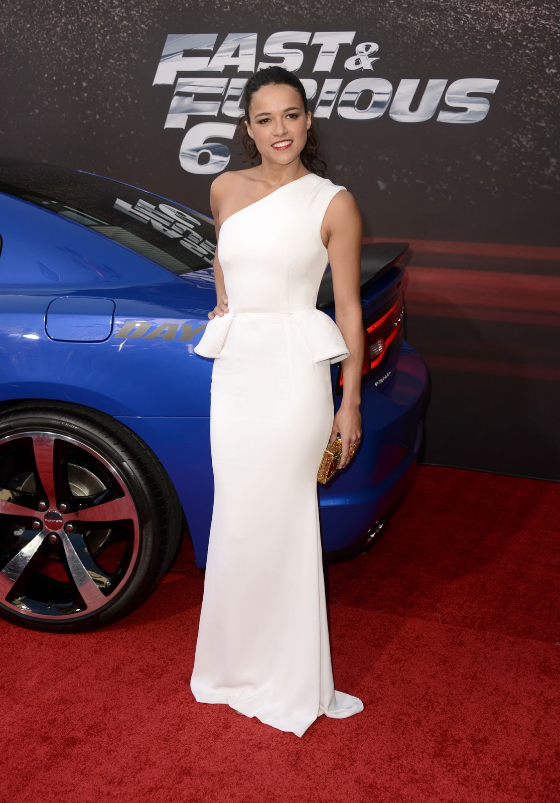 Michelle Rodriguez Fast And Furious 6 Car