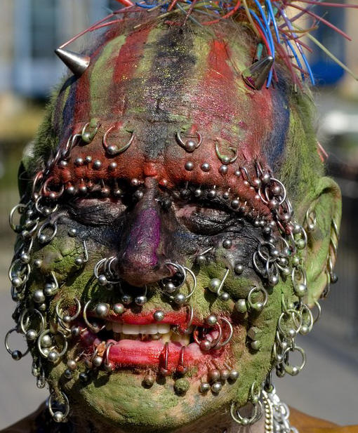 Tattoo design art extreme face tattoos and piercing for Tattoos and piercing