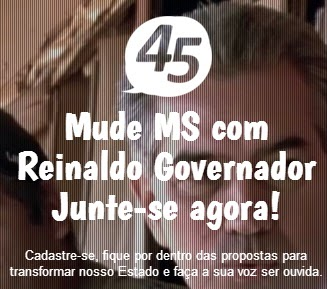 Reinaldo Governador 45