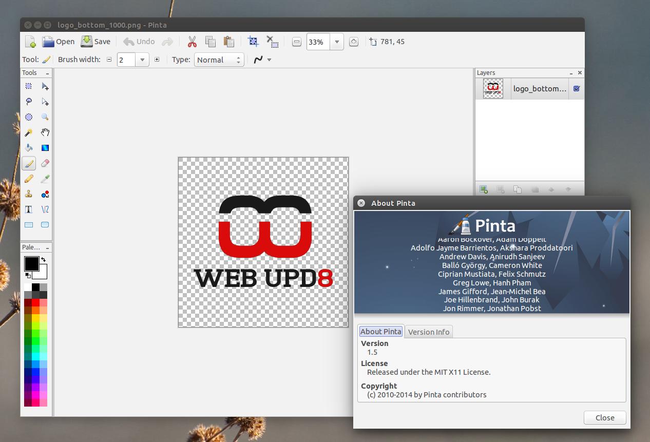 Pinta 1.5 image editor