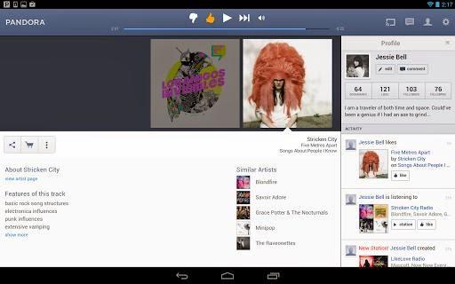Pandora 5.2 full apk