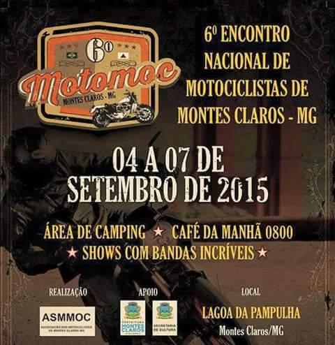 Montes Claros-MG (05 à 07 de Setembro)
