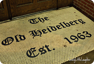 Heidelberg tile entrance Columbia Missouri
