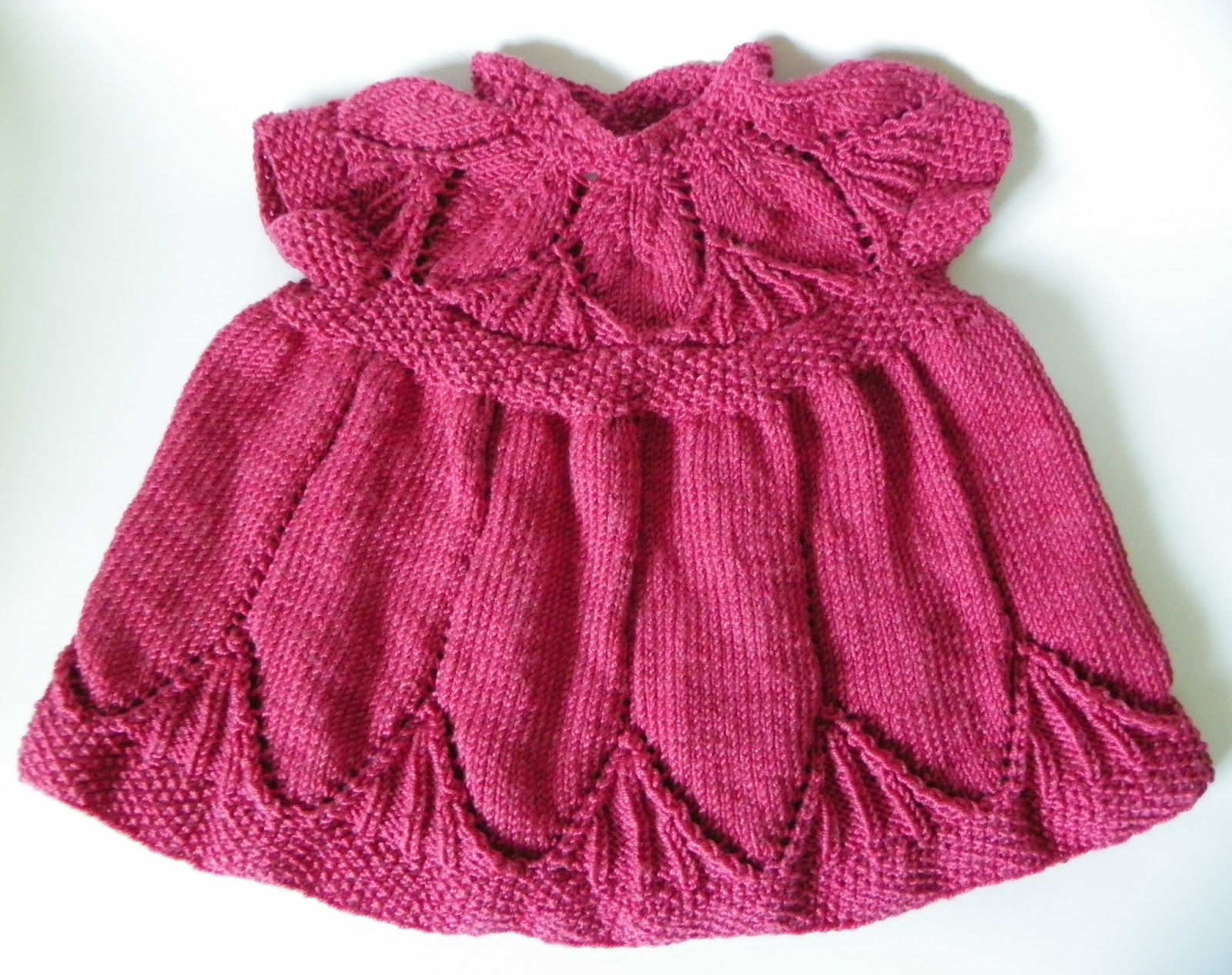 Clara Dress Knitting Pattern : Lazy Days and Sundays: Clara dress
