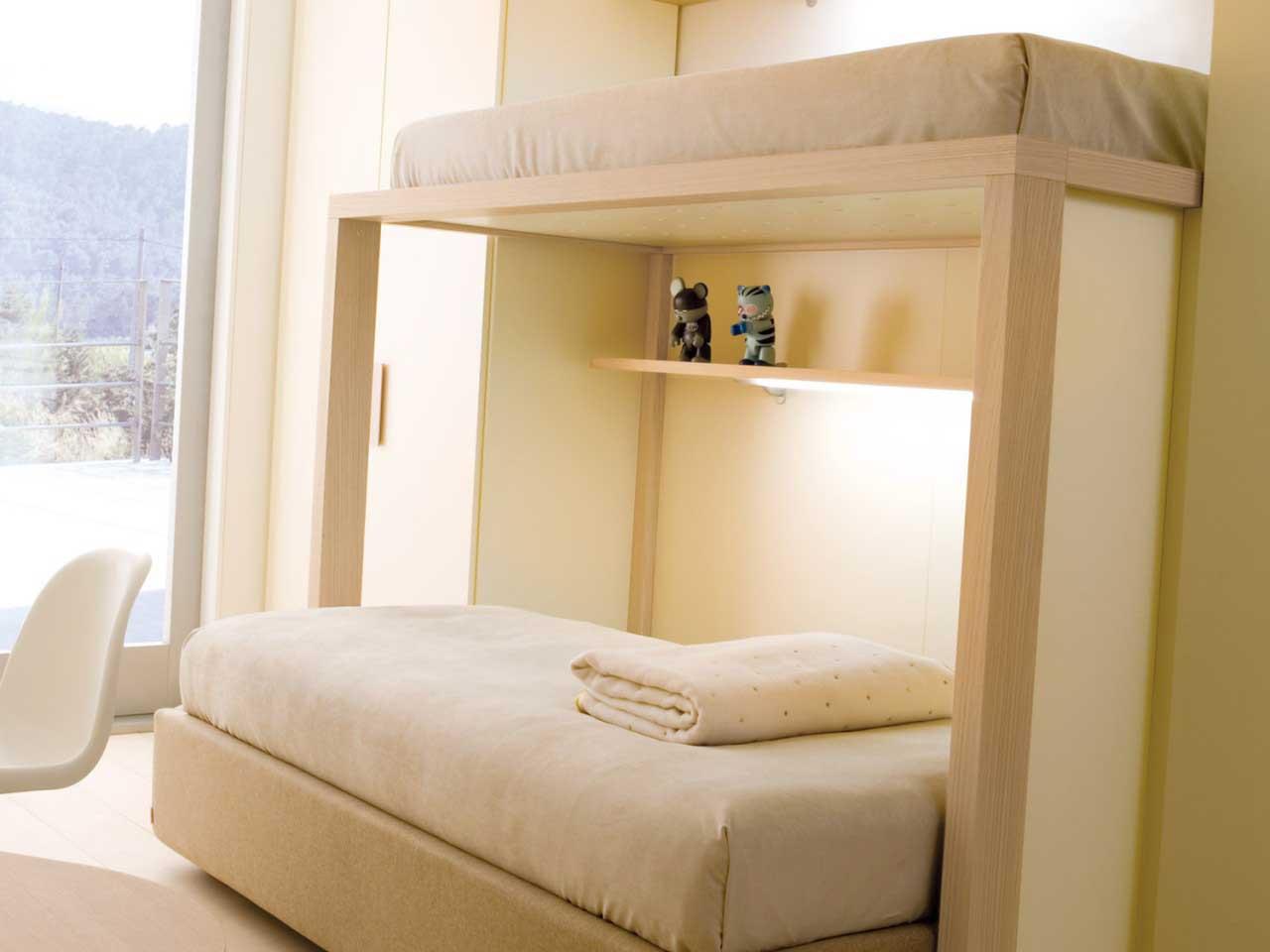 Maison moderne construction l 39 utilitaire de lits superpos s - Lit superpose moderne ...