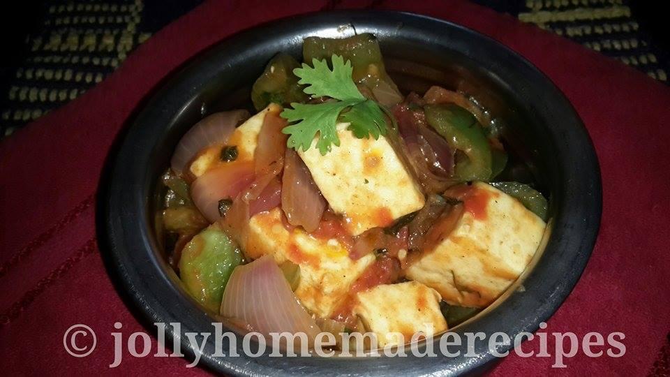 Kadai Paneer Recipe, How to make Restaurant Style Kadai Paneer Recipe ...