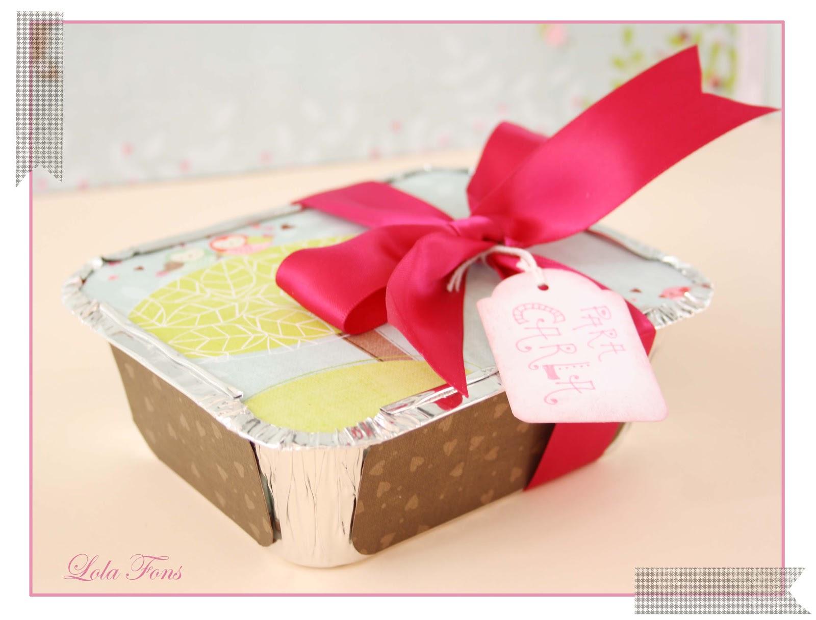 Algo que compartir una forma diferente de envolver - Envolver regalos grandes forma original ...