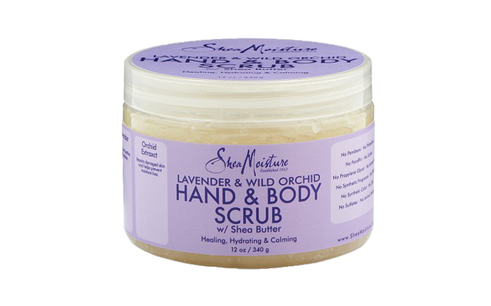 Valentines Day List SheaMoisture Scrub