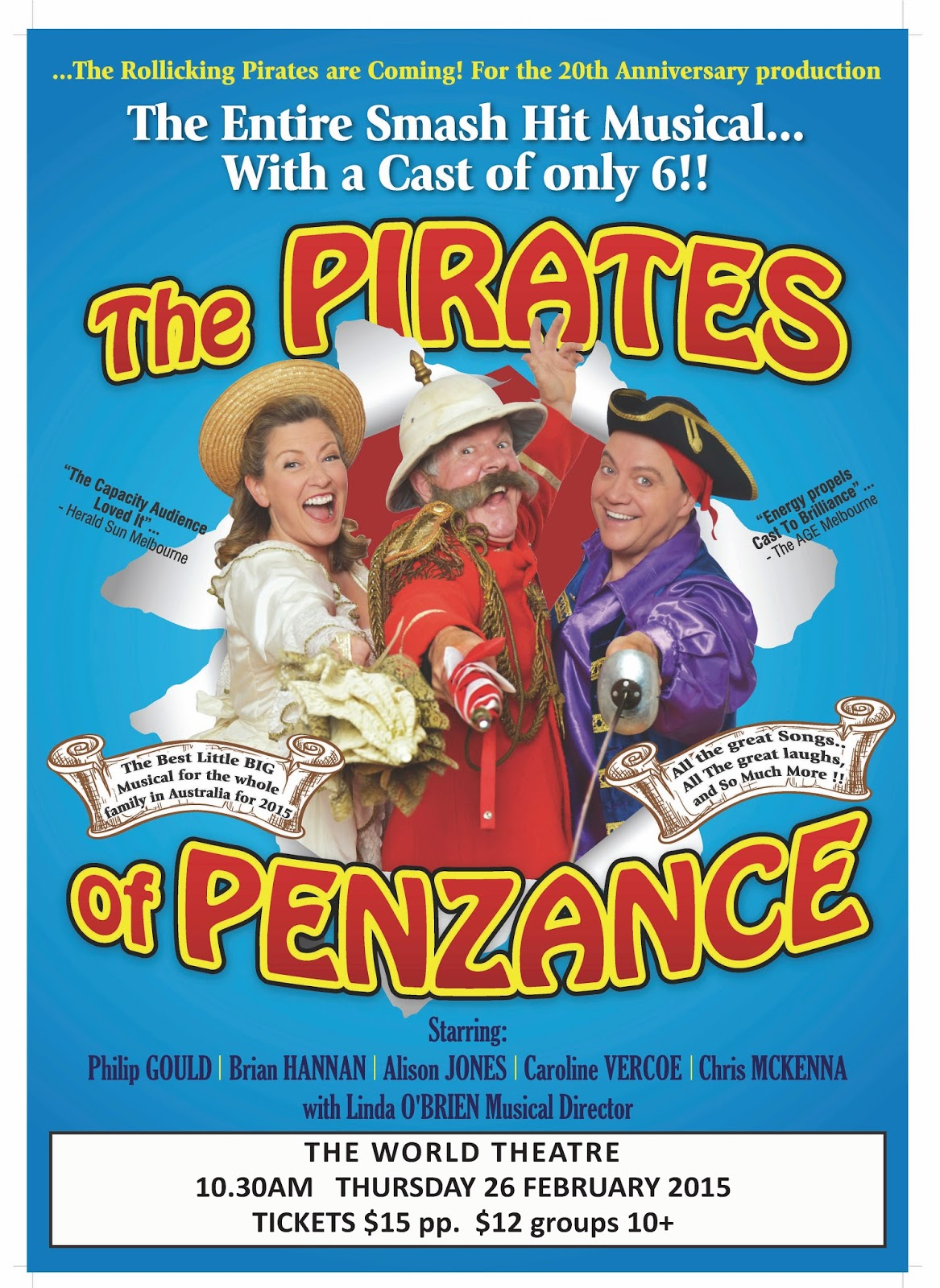 world theatre charters towers pirates of penzance the