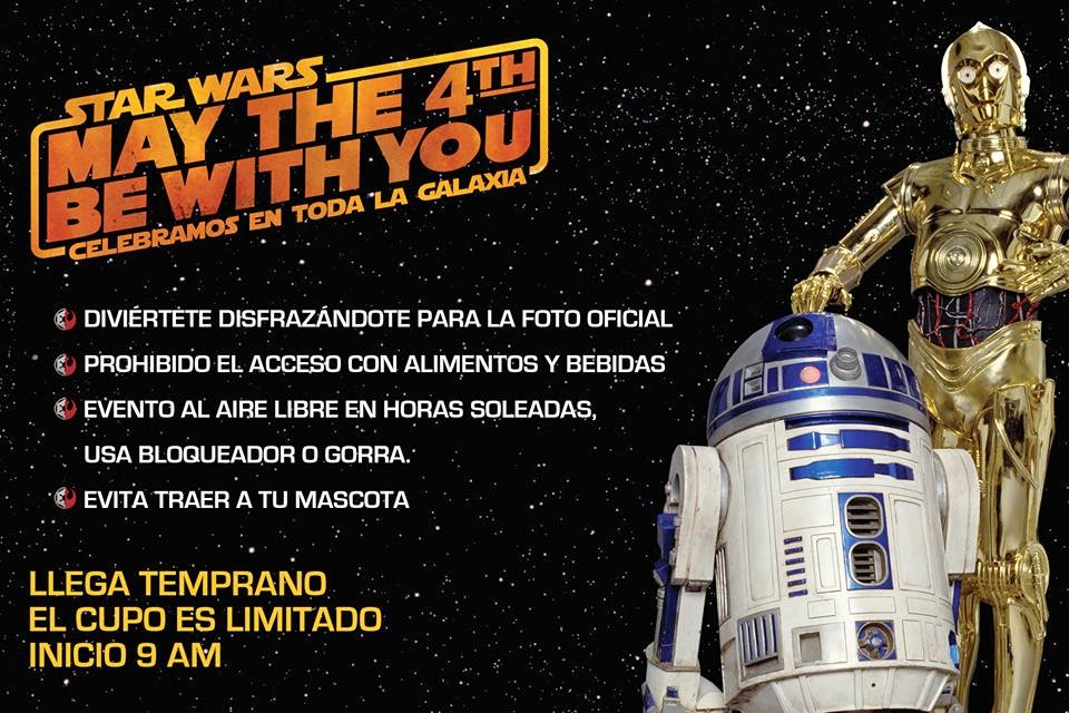 """Celebración del """"Star Wars Day"""" en la Ciudad de México"""