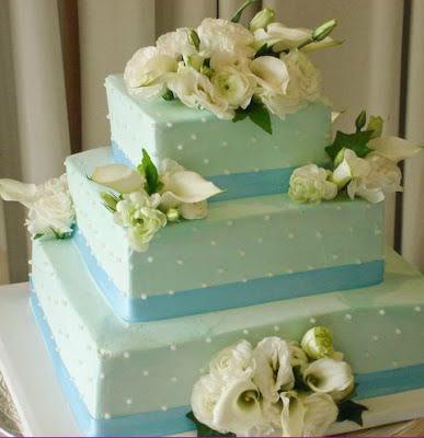 Honolulu Wedding Cake