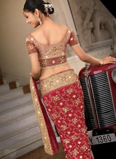 Girls+Wear+Sari+008