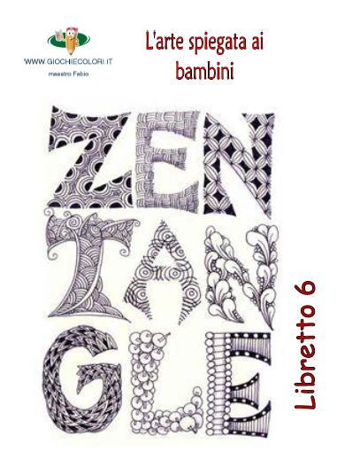 Schede ed attivit didattiche del maestro fabio per la for Zentangle per bambini