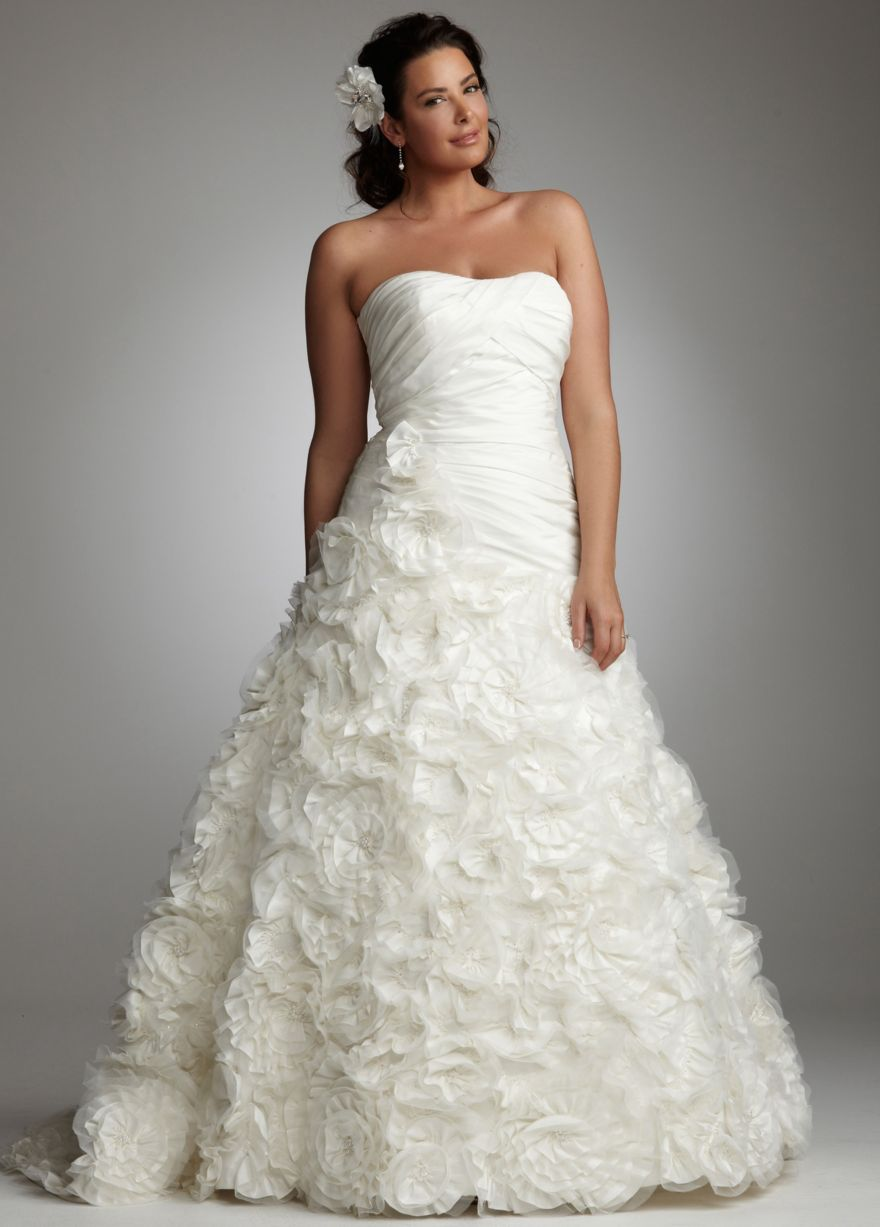 plus size wedding dresses hairstyles and fashion